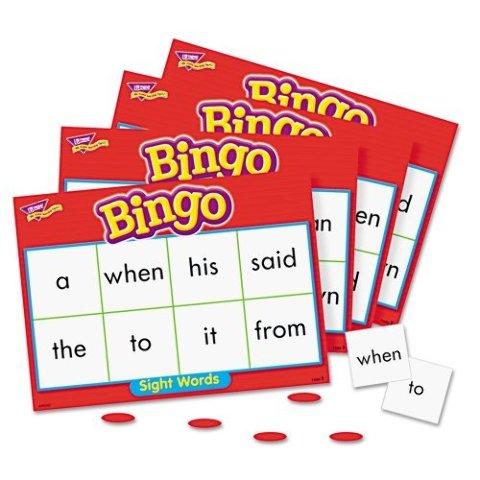 Trend Enterprises Sight Words Bingo Flash Cards