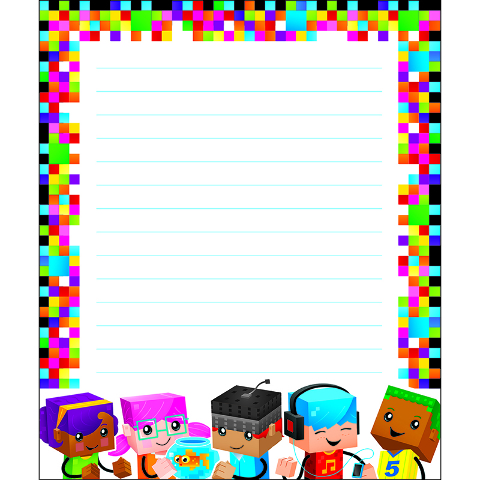 BLOCKSTARS NOTE PAD