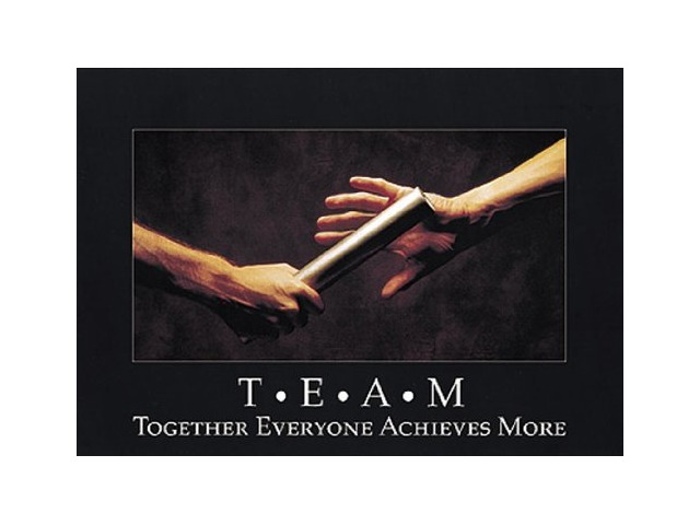 Poster T.e.a.m. Together Everyone