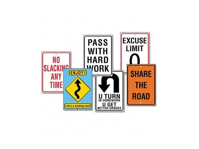 Argus Poster Combo Pack Life Signs - Set of 6