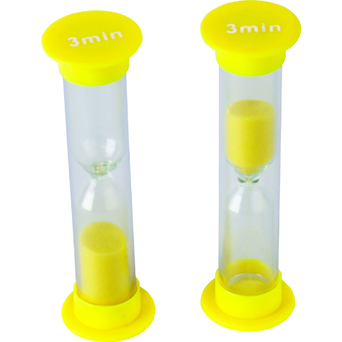 SMALL SAND TIMER 3 MINUTE