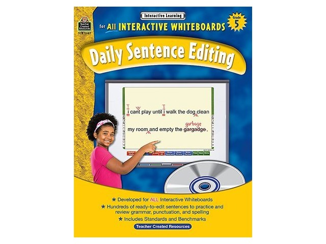 Interactive Learning: Daily Sentence Editing, Grade 5