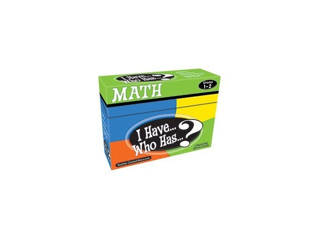 I Have...Who Has Math Game, Grades 1-2