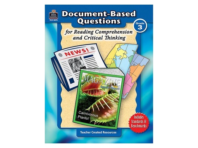 Grade 3 Document-Based Questions: Reading Comprehension & Critical  Thinking