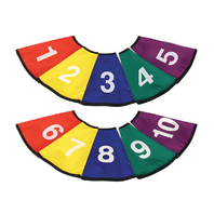NUMBERED CONE COVERS SET OF 10