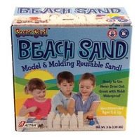 Activa Scenic Sand Beach, 3-Pound, White