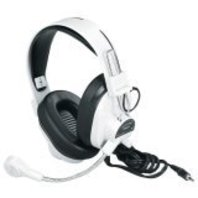 Califone 3066AV Deluxe Multimedia Stereo Wired Headset, 3.5mm Plug