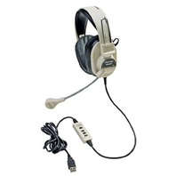 New - Califone 3066-USB Multimedia Headset With Mic