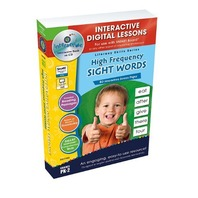 High Frequency Sight Words - IWB Digital Lesson Plans (Literacy Skills)