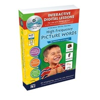 High Frequency Picture Words - IWB Digital Lesson Plans (Literacy Skills)