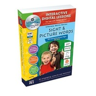 Sight & Picture Words Big Box - IWB Digital Lesson Plans (Literacy Skills)
