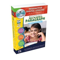 How to Write a Paragraph - IWB Digital Lesson Plans (Writing Skills)
