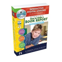 How To Write a Book Report - IWB Digital Lesson Plans (Writing Skills)