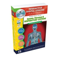 Senses, Nervous & Respiratory Systems - IWB Digital Lesson Plans (Gr. 3-8) (Human Body (Classroom Complete Press))