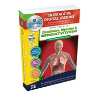 Circulatory, Digestive & Reproductive Systems - IWB Digital Lesson Plans (Gr. 3-8) (Human Body (Classroom Complete Press))