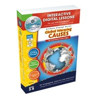 Global Warming Causes - IWB Digital Lesson Plan (Gr. 3-8) (Climate Change (Classroom Complete Press))
