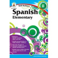 Skill Builders Spanish II Workbook, Grades K-5