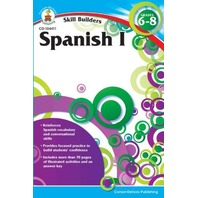 Skill Builder Spanish I Workbook, Grades 6-8