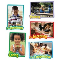 Carson Dellosa First-Rate Character Traits Bulletin Board Set (110095)