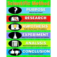 SCIENTIFIC METHOD CHARTLET GR 4-8