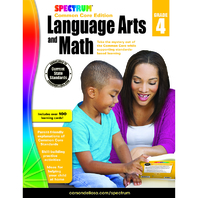 SPECTRUM LANGUAGE ARTS & MATH GR 4