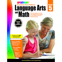 SPECTRUM LANGUAGE ARTS & MATH GR 5