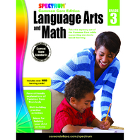 SPECTRUM LANGUAGE ARTS & MATH GR 3