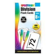 SPECTRUM FLASH CARDS MULTIPLICATION