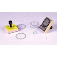 Center Enterprises Inc. Stamp Digital Clock 2-1/2 X 3-1/2
