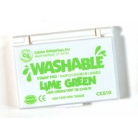 Center Enterprises Inc. Stamp Pad Washable Lime Green