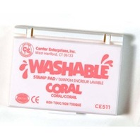 Center Enterprises Inc. Stamp Pad Washable Coral