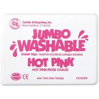 Center Enterprises Inc. Jumbo Stamp Pad Hot Pink Washable