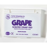 Grape Scented Stamp Pad; Purple Ink; no. CE-61