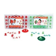 Ready2Learn Giant Alphabet Foam Stamp Sets: Upper & Lowercase