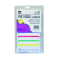 FILE FOLDER LABELS ASSORTED