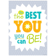BE THE BEST YOU  INSPIRE U POSTER
