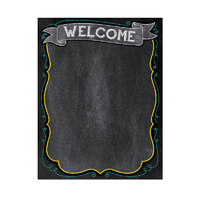 WELCOME CHART - CHALK