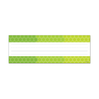 OMBRE LIME GREEN HEXAGONS NAME