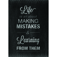 MISTAKES POSTER