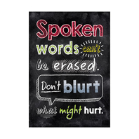 SPOKEN WORDS CANT BE ERASED INSPIRE