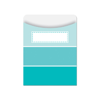 TURQUOISE PAINT CHIP LIBRARY