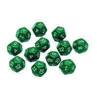 12 SIDED POLYHEDRA DICE