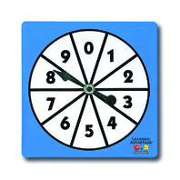 0-9 NUMBER SPINNERS