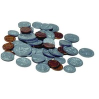 Plastic Coin Set; 94 Piece Set