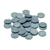 Learning Advantage Ctu7523 Plastic Coins 100 Dimes