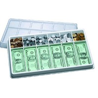 Money Kit with Money Tray; Ages 5-9; no. CTU7556