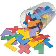 Pentominoes Jar; 72 Piece Set; no. CTU7735