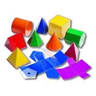 Folding 3-D Geofigures; 11 Shapes Set; no. CTU7771