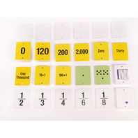 FUN EMPTY NUMBER LINE CARDS ONLY GR