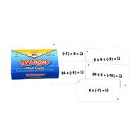 INTEGER FLASH CARDS